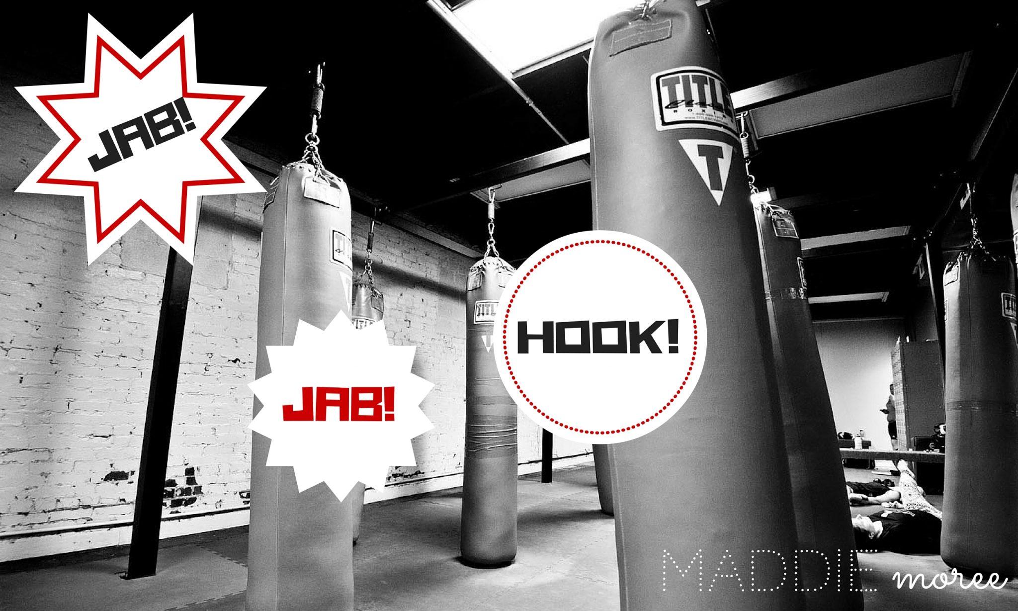 October Fitness Challenge: Jab, Jab, HOOK!