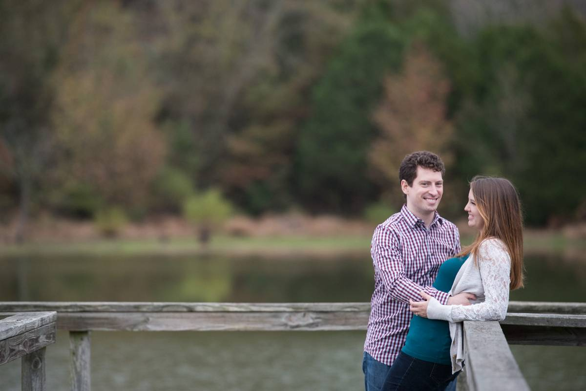 Shelby farms lake engagement