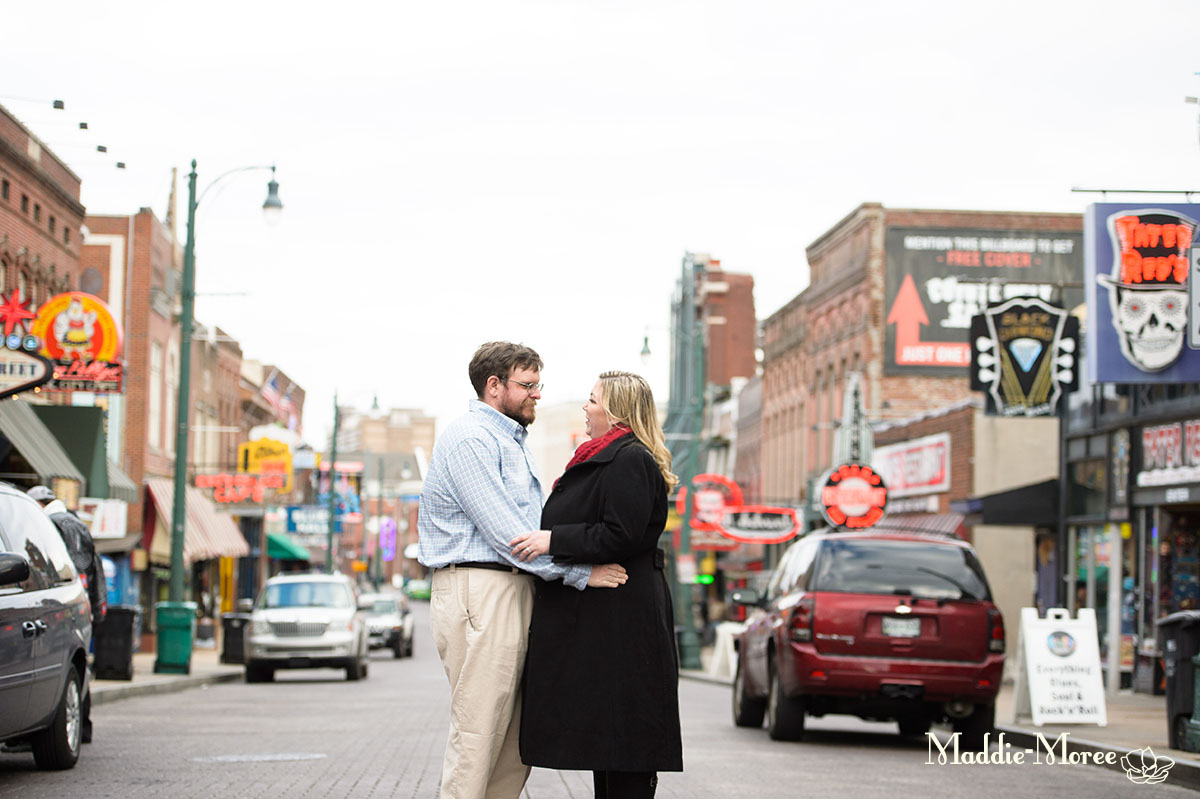 Beale Street Engagement Session