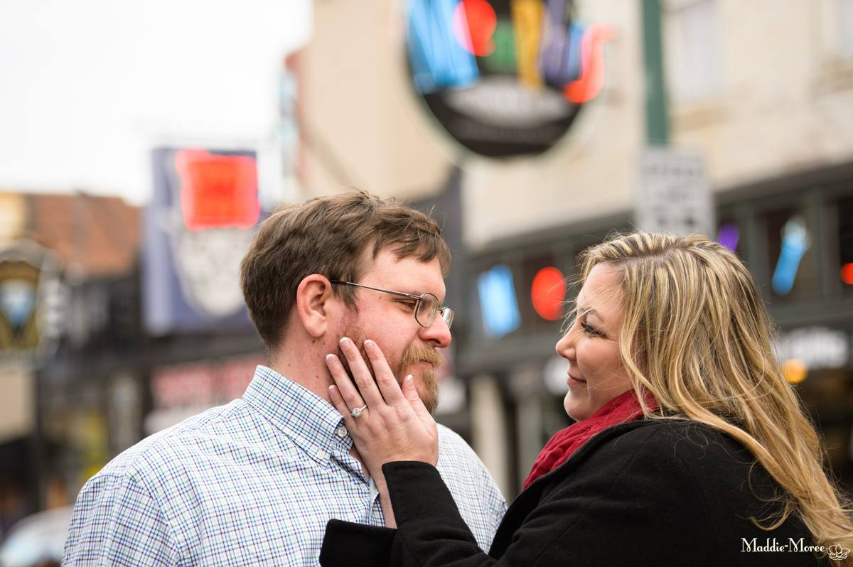 Cynthia and Jim: A Downtown Memphis Engagement