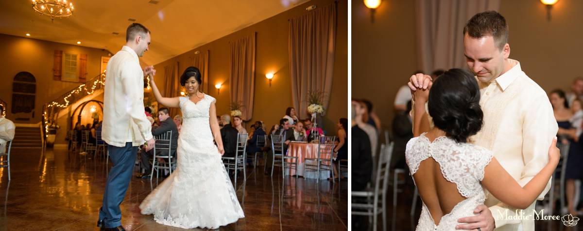 Reception wedding photography