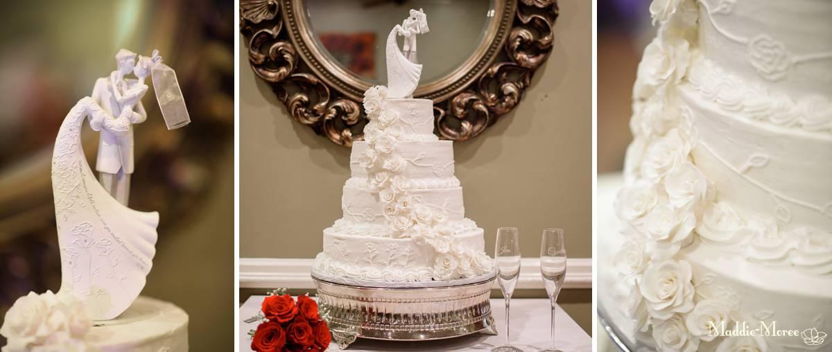 Reception details, cake