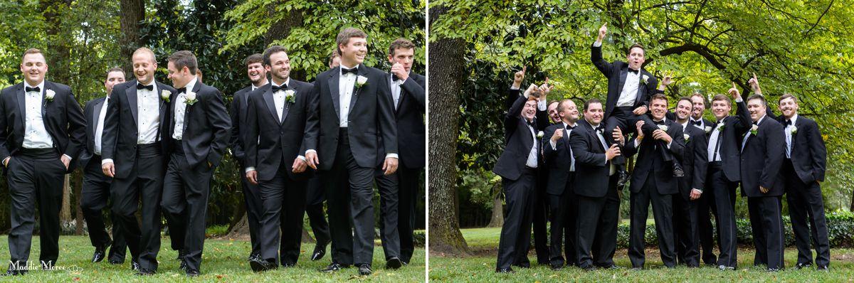 groomsmen cedar hall