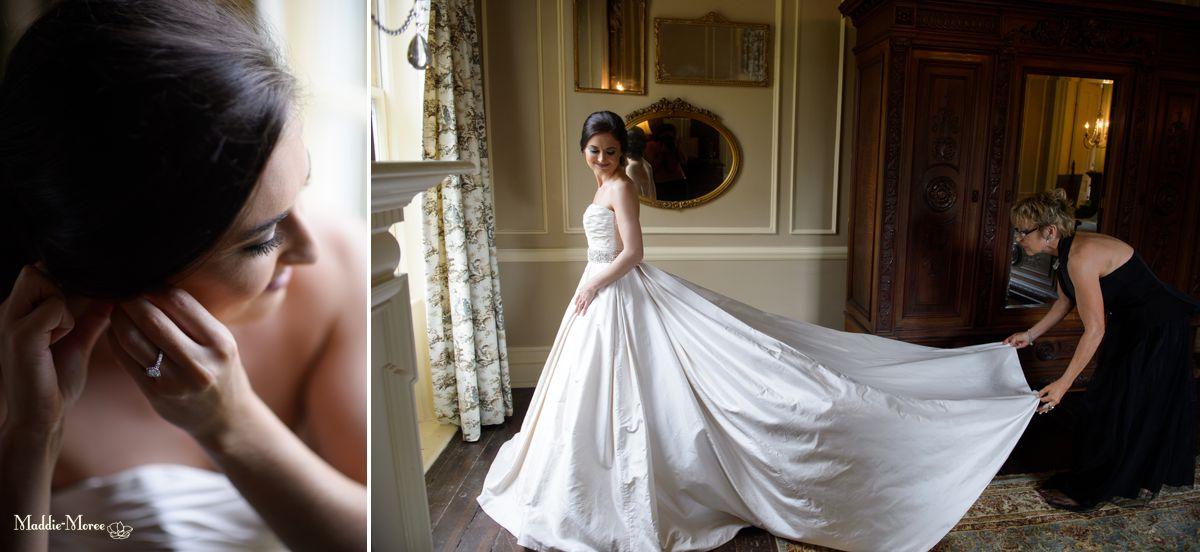 bridal, getting ready Cedar Hall