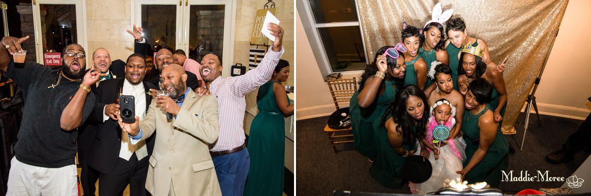 goofy reception photos