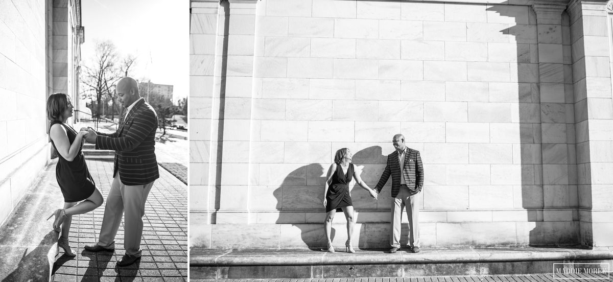 Brooks museum engagement maddie moree