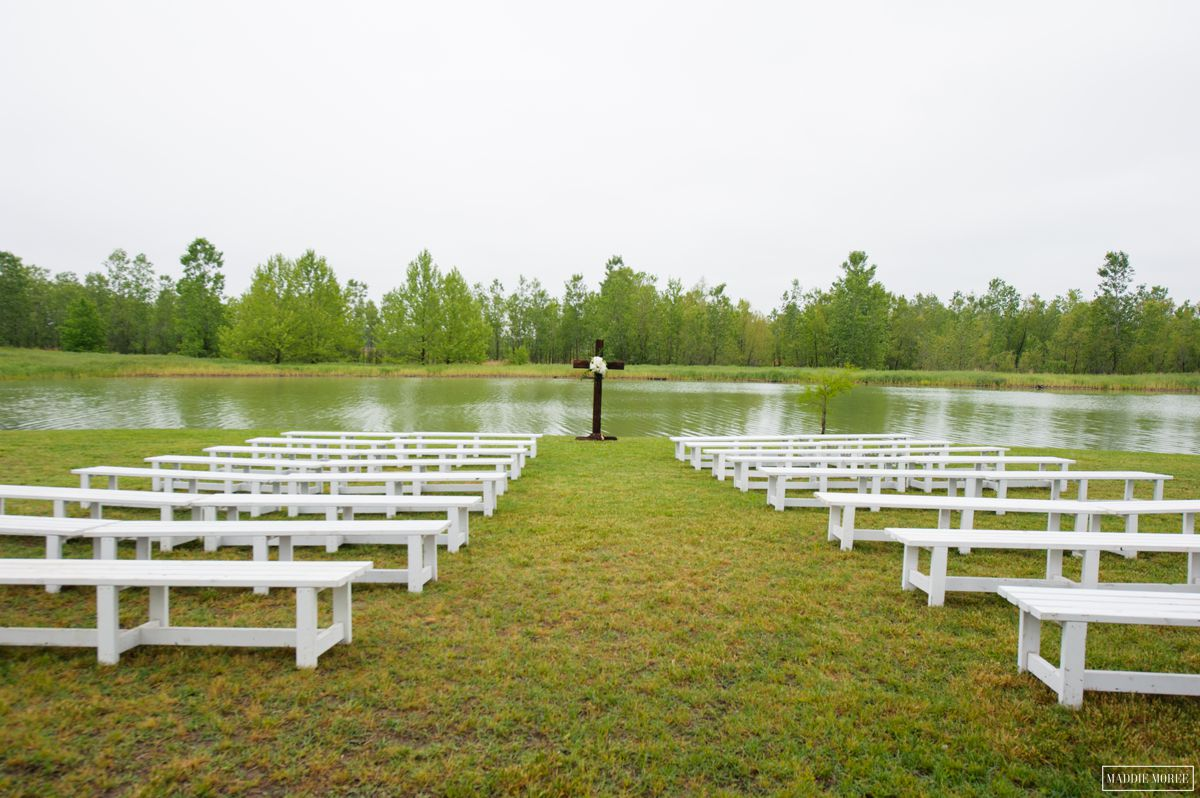 ceremony lake wedding