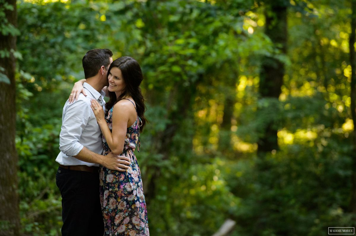 Engagement photography country