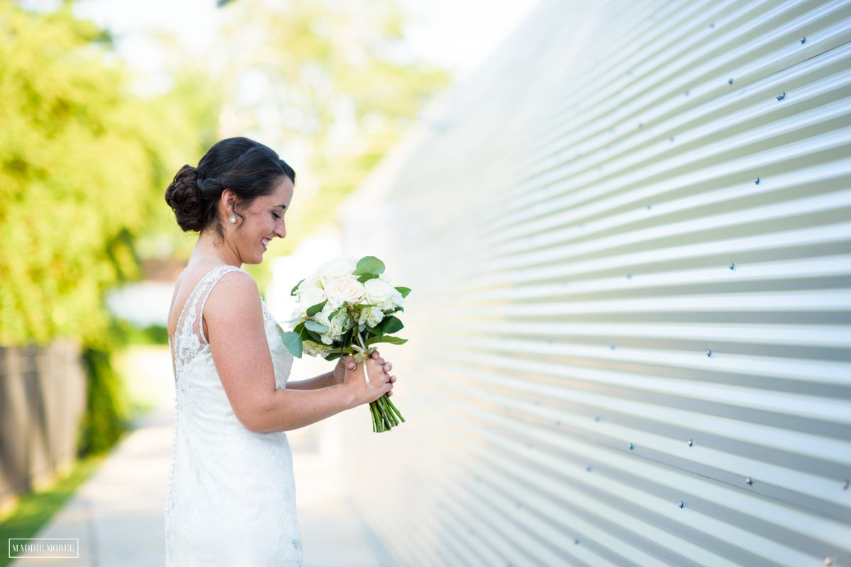 bride at Quonset