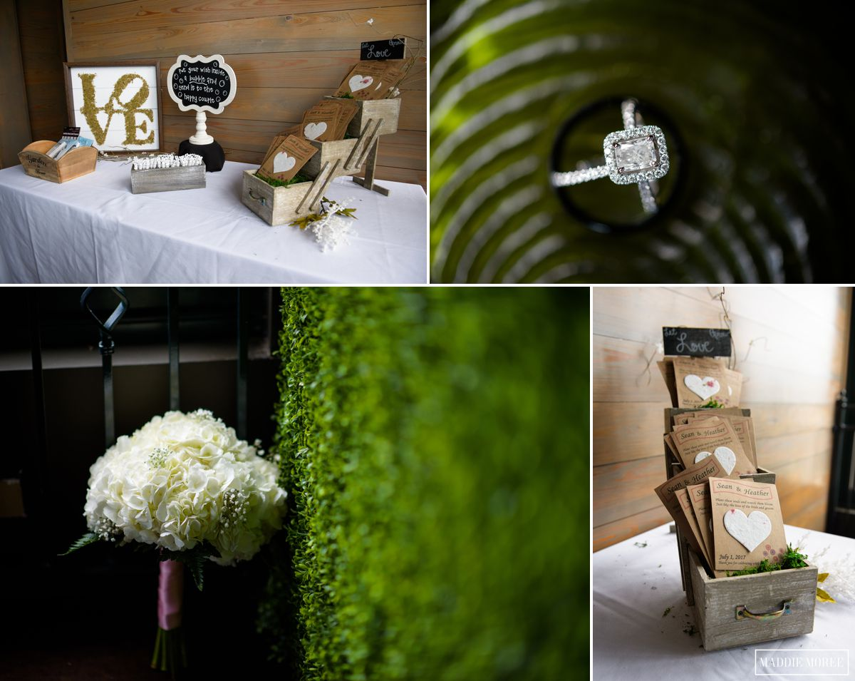 terrace reception details