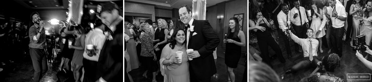 Chickasaw Country Club reception photography maddie moree