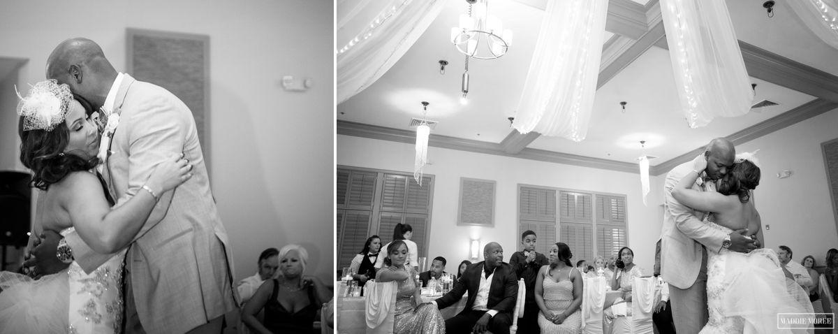 first dance maddie moree wedding reception