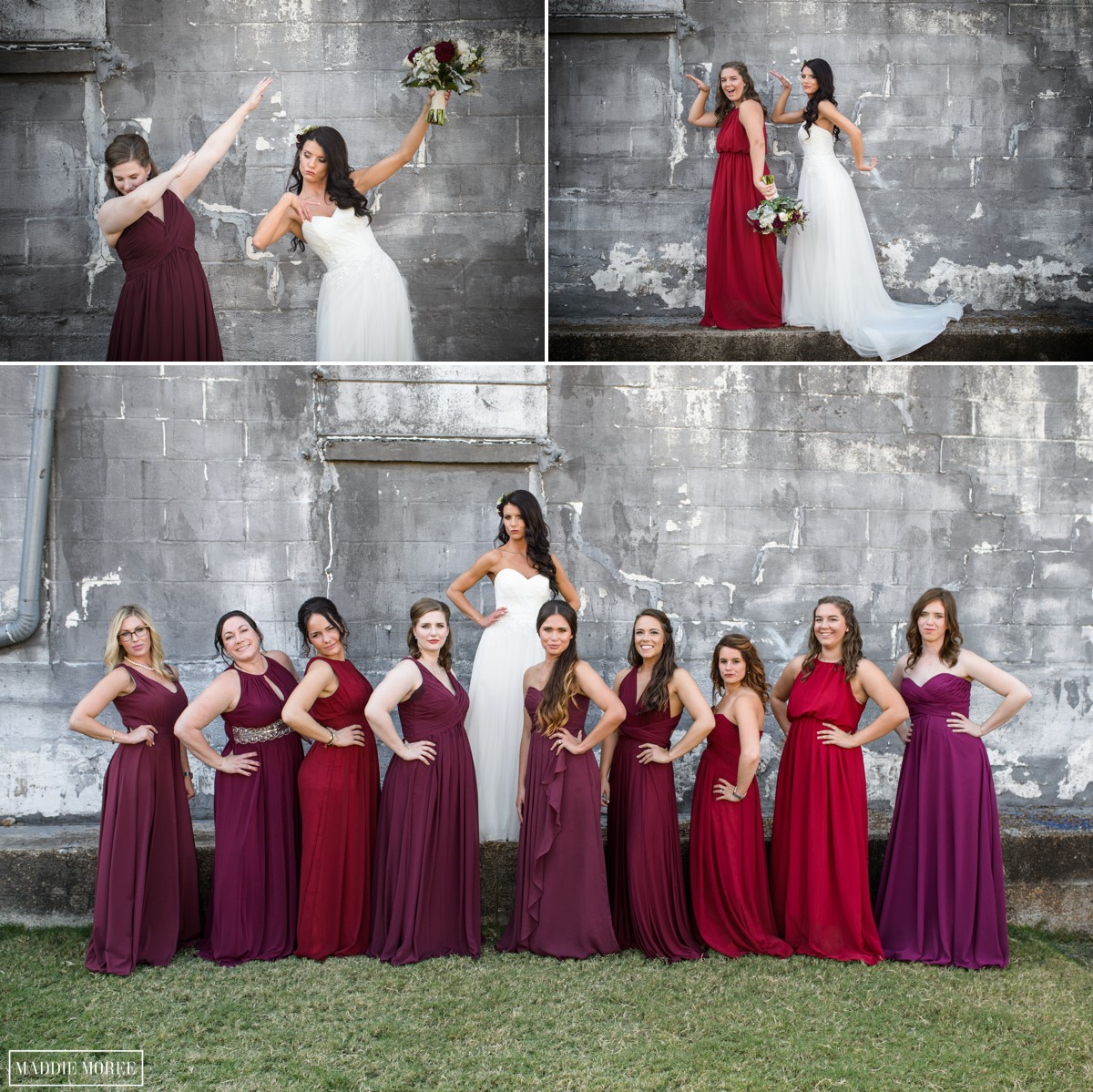 Bridesmaids loflin yard