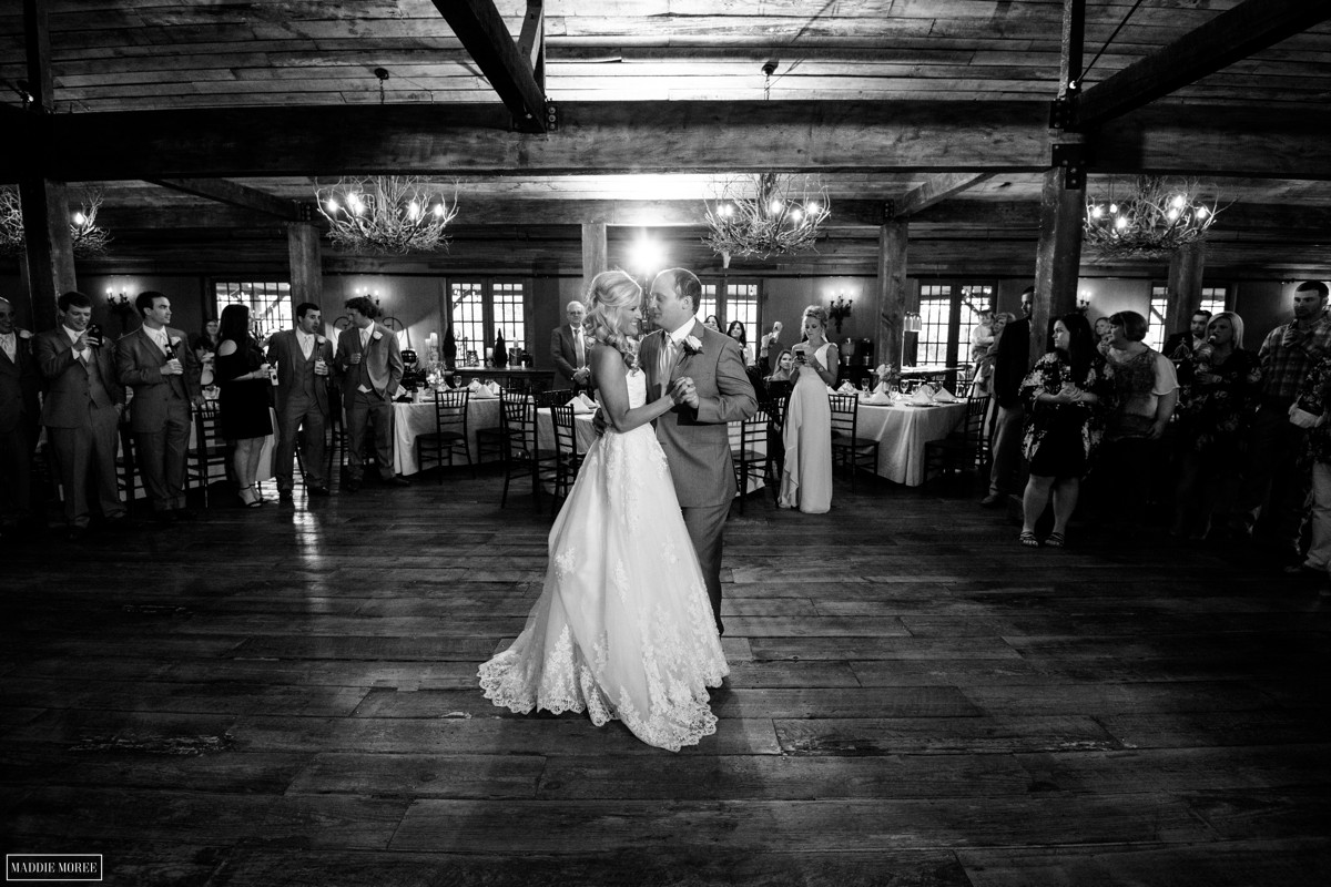 the barn first dance wedding