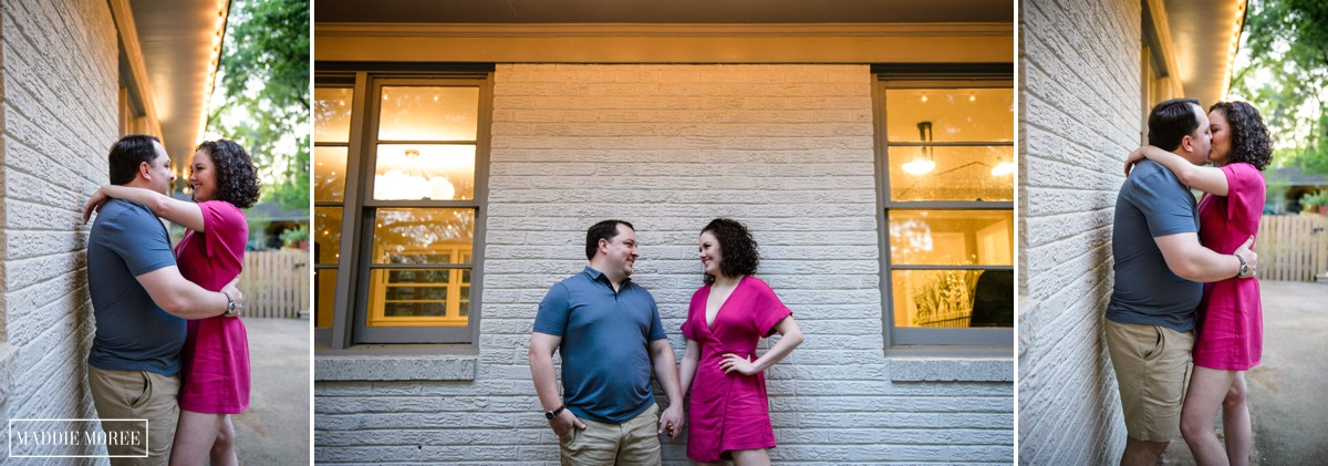 memphis engagement photography maddie moree
