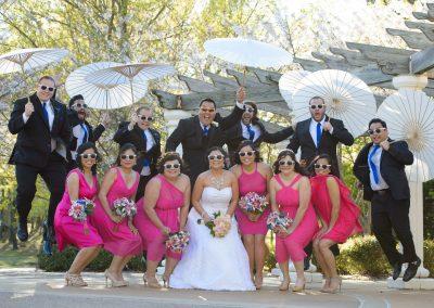 wedding party goofy