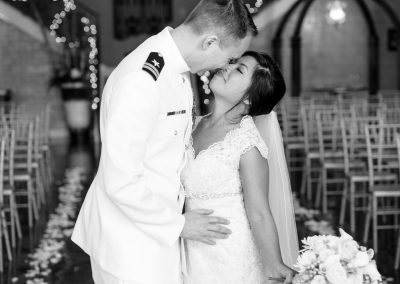 Military wedding madison yen