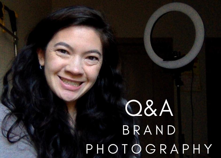 Branding Through Photography Live Q&A