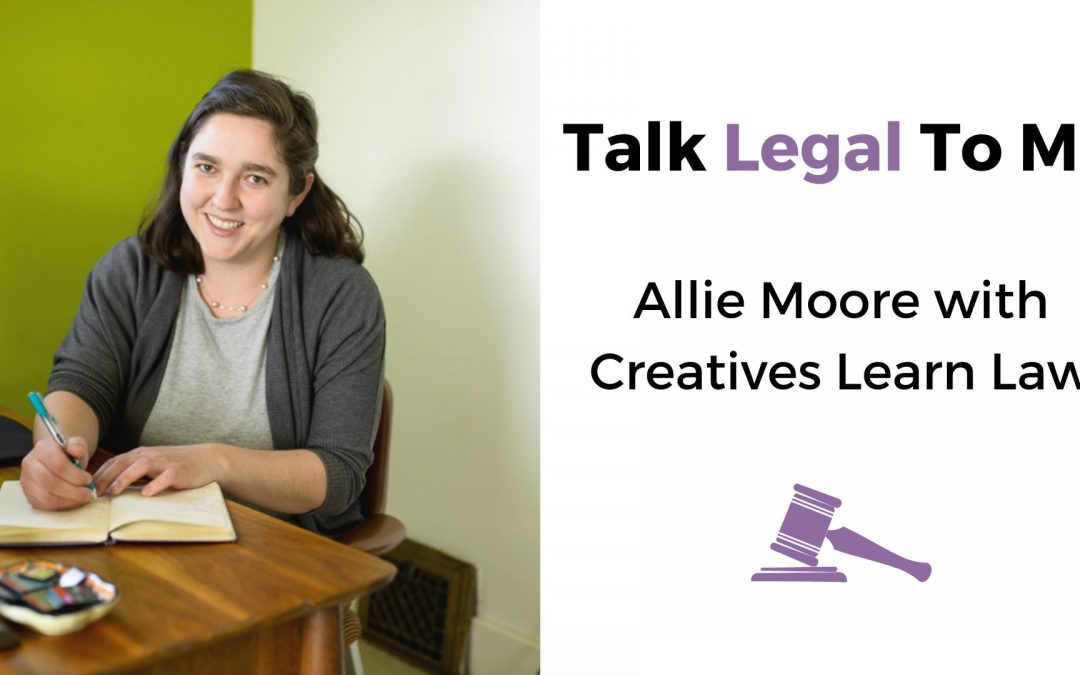 Legal Talk 101 with Creatives Learn Law